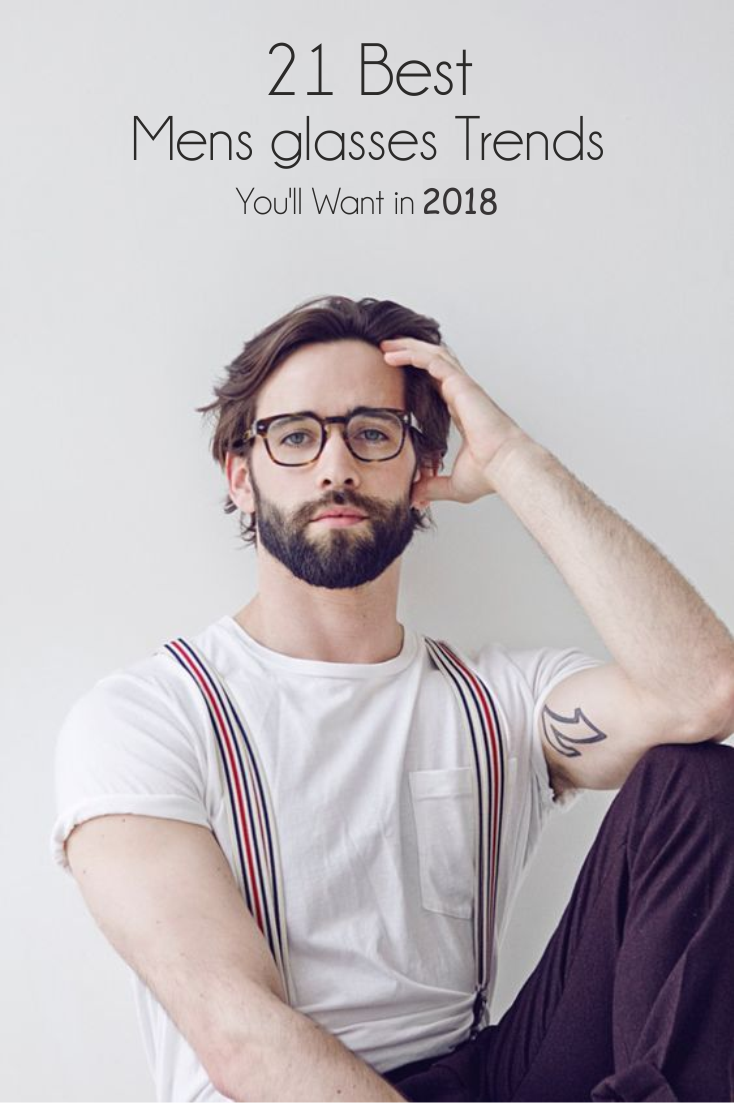 21 Of The Best Men\'s Glasses To Wear in 2018 | Eye Openers Optical ...