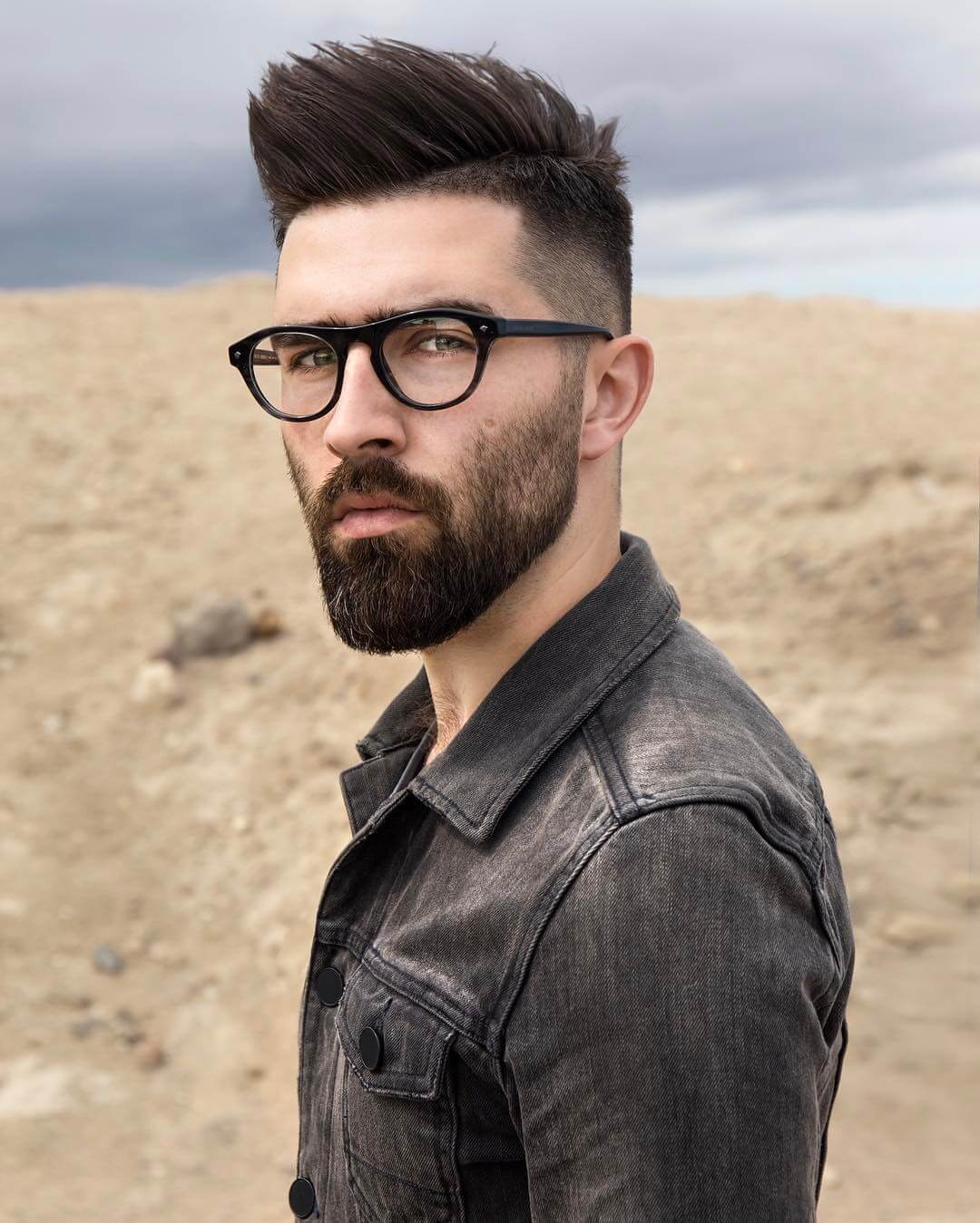 The Right Hair, Beard, and Glasses Styles, According to ...